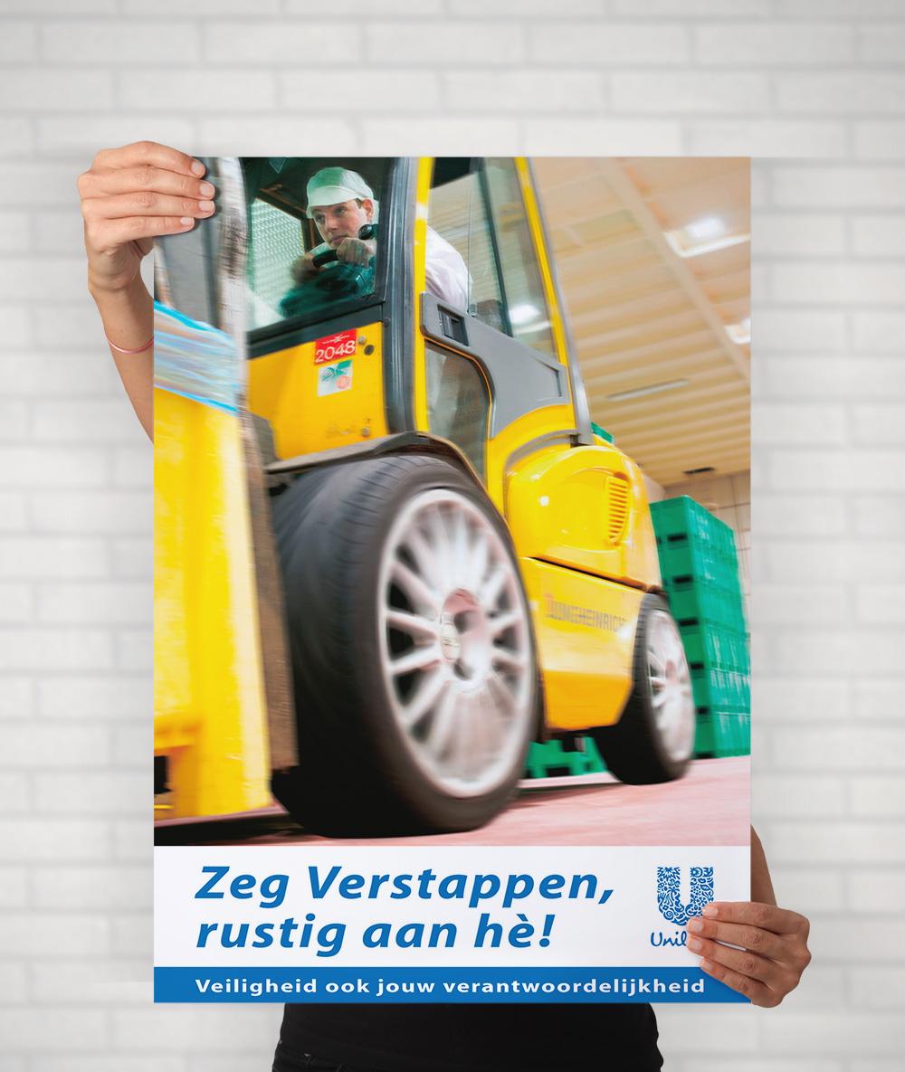 voorbeeld poster campagne unilever