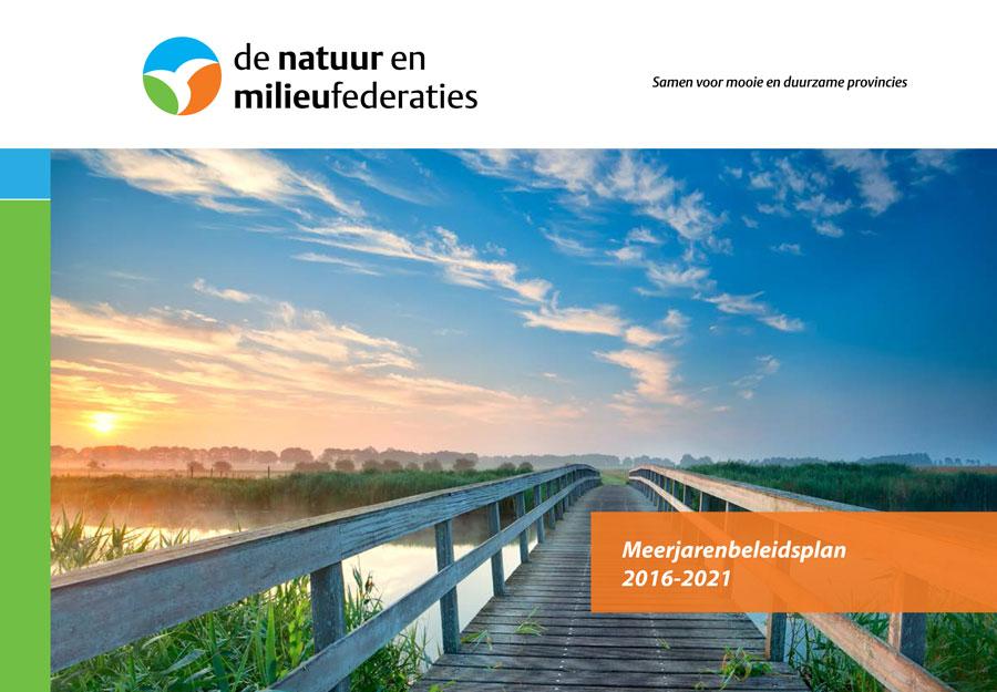 voorbeeld van meerjarenbeleidsplan natuur en milieufederaties