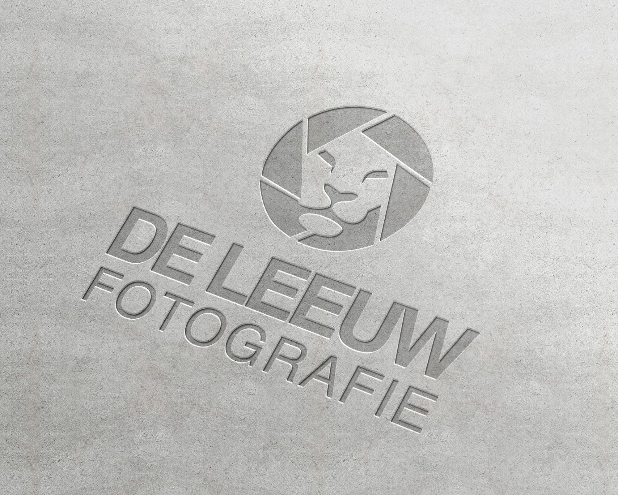 Logo ontwerp de leeuw fotografie